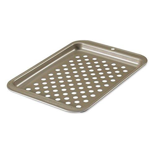 Nordic Ware Backblech Compact Pizza/Knusperblatt Gold metallic Nordic Ware Pizza Pan