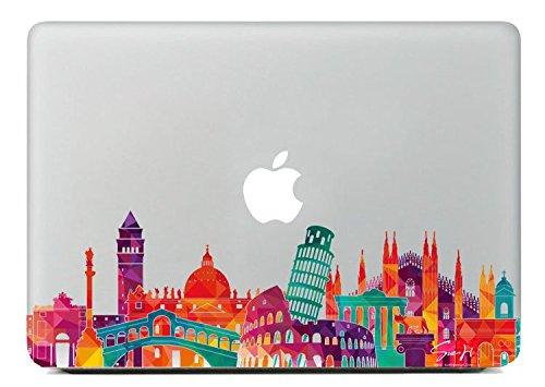 SueH Design Italia Simbólico Arquitecturas Adhesivo para Macbook 13