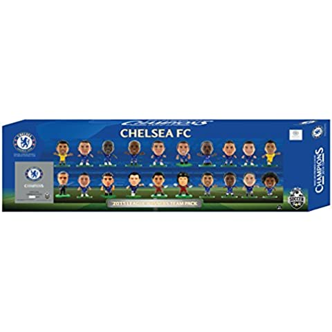 SoccerStarz - Estatuilla de los jugadores ganadores Capital One Cup del Chelsea de 2015, 20 pcs.