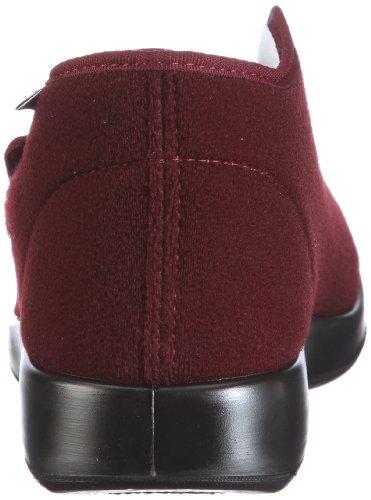 Varomed Genua 60.920-60, Chaussons mixte adulte Rouge/bordeaux
