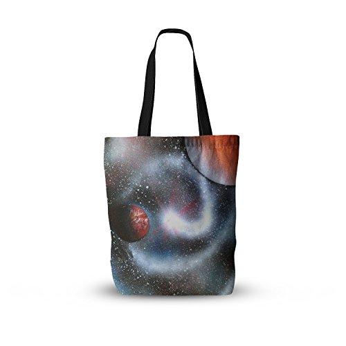 kess-inhouse-everything-tote-bag-13-inch-x-13-inch-infinite-spray-art-starburst-black-red-galaxy-mul