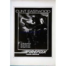 PLAQUETTE FILM - FIREFOX - L'ARME ABSOLUE - AVECCLINT EASTWOOD.