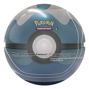 Pokémon International 45014-PKM Frühjahr PKM Pokeball Tin Primavera 2020 DE-Juego de Cartas (Pokémon Company International 45014)