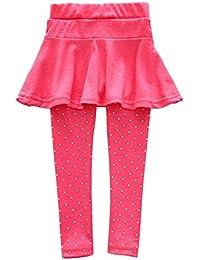 ROPALIA Bébé Fille Legging Jupe Pantalon Jupe Jambieres Enfant en laine 1-7 ans