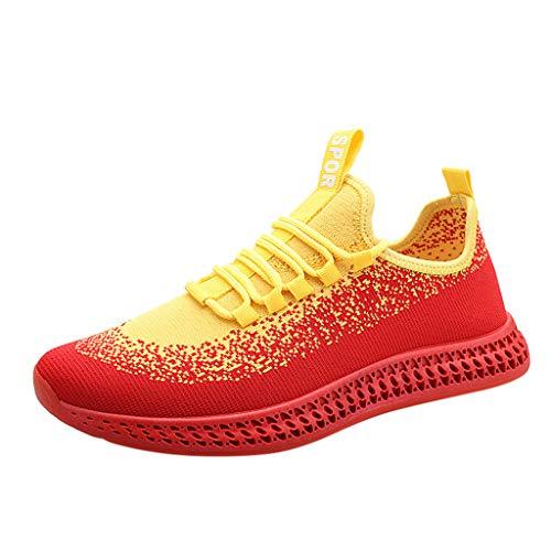Longzjhd Sneakers Mode Homme Chaussures Tout-Aller pour garçons Chaussures Basses pour étudiants Baskets Respirantes Baskets Mode Chaussures de Sport Basket-Ball Baseball Bowling Gymnastique