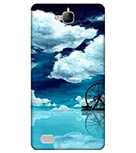 EagleHawk 3D Designer Printed Back Cover for Huawei Honor 3C - D791 :: Perfect Fit Designer Case
