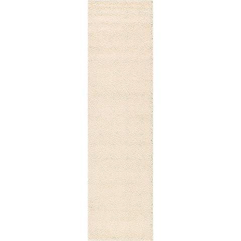 Moderno sólido peluche solo Contemporáneo área alfombra