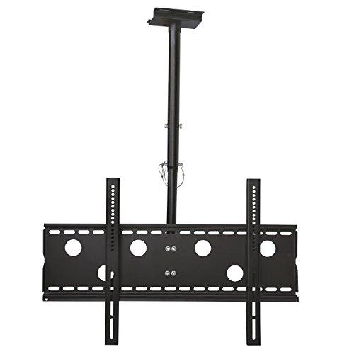 NEG Profi Universal TV-Deckenhalterung Praeceps 102B (schwarz) 360° drehbar, neigbar und höhenverstellbar, bis VESA 600x400 und 50kg belastbar
