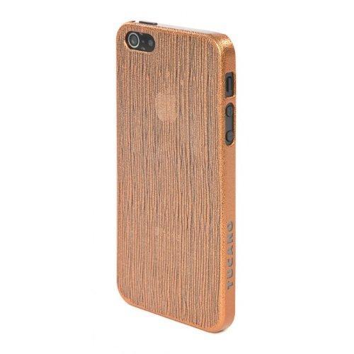 Tucano IPH5CH-CP Chic Case für Apple iPhone 5/5s hellrosa Orange