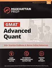 GMAT Advanced Quant: 250+ Practice Problems & Bonus Online Resou