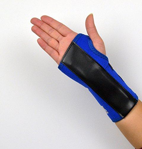 Corpo Sync Pro supporto per il polso blu brace stecca per tunnel carpale, artrite o sport slogature NHS use-polso destro