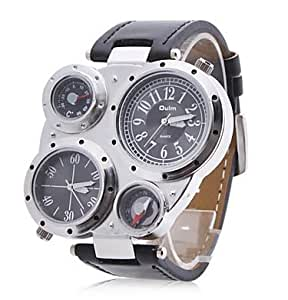 PREMIUM Commander Watch Armbanduhr - Schwarz
