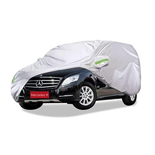 SXET-Cubierta de coche Cubierta para automóvil Mercedes Serie R Protección UV exterior especial para lluvia y lluvia Camión para nieve Cubierta completa para automóvil Four Seasons Universal