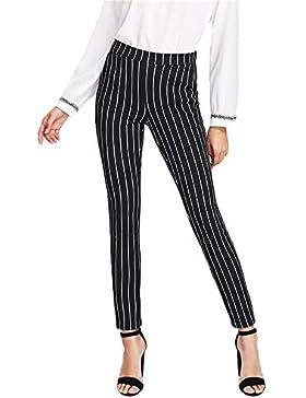 Pantalones Leggings para Mujer Otoño Invierno 2018 Moda PAOLIAN Casual Pantalones Uniformes de Trabajo Skinny...