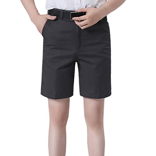 Zhuhaitf Herren Chino Shorts Bermuda Kurze Hose Sweatshorts Cargo Shorts Regular Fit Father Boyfriend Gift (Shorts Knitterfrei Herren)