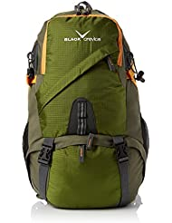 Black Crevice Mochila Hiking 35 Verde