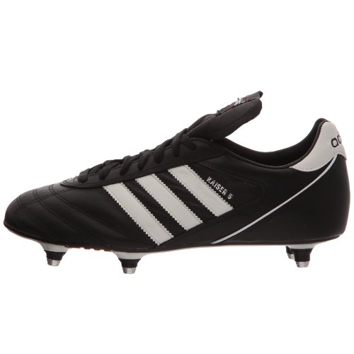 adidas Kaiser 5 Cup SG Football Boots - Black Running White Red - size 11 5