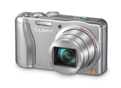 Panasonic Deutschland GmbH - Consumer Electronics Panasonic DMC-TZ31EG-S Digitalkamera (14,1 Megapixel, 20-fach opt. Zoom, 7,5 cm (3 Zoll) Display, bildstabilisiert) silber