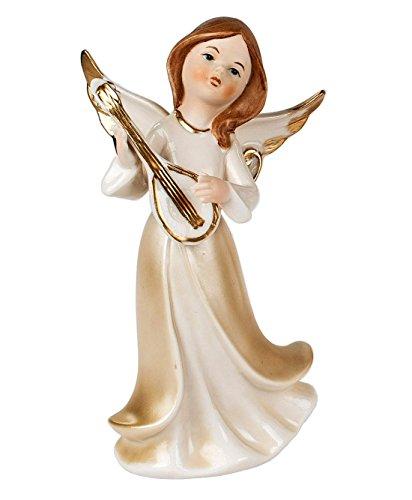 Klp Engel Dekoengel Schutzengel Engelfigur Skulptur Weihnachts Deko Figur Mandoline