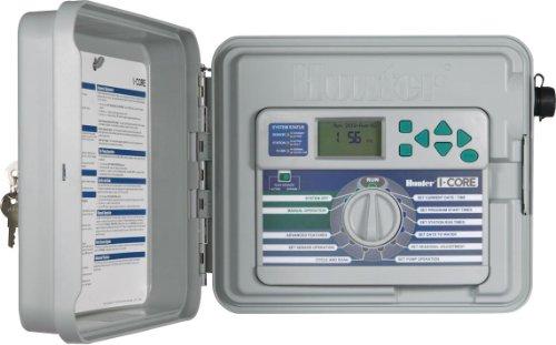 Hunter Sprinkler ic600ss I-CORE DUAL CONTROLLER 48-station-Basis-Modell mit Edelstahl Schrank (Sprinkler-timer 6 Station)