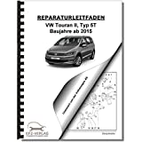 VW Touran, Typ 5T (15>) 6 Gang Schaltgetriebe 0AJ Kupplung - Reparaturanleitung