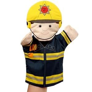Les Gens qui nous Aident: Pompier marionnette à main [Jouet] [Jouet]
