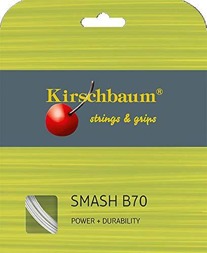 Kirschbaum Badmintonsaite Smash B70 weiß 0,7mm 200m
