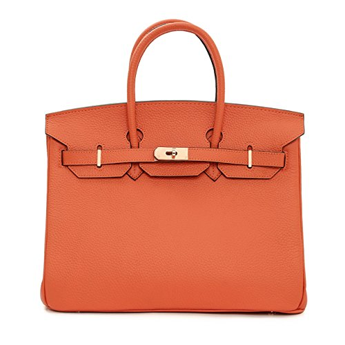 macton-damen-henkeltasche-schwarz-orange-35-cm