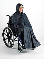 Waterproof Wheelchair Rain Mac / Poncho with Hood
