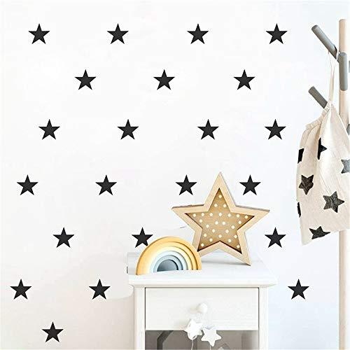 Wandtattoo Kinderzimmer Stern-Abziehbild-Aufkleber für Wände Stern