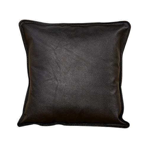 VIVOCWedge Leder Sofa Wurfkissen Abdeckung, Für Couch Sofa Bett Kissen Case Kissen-Kissen Nur Kissen-Cover-c 40x40cm(16x16inch) -