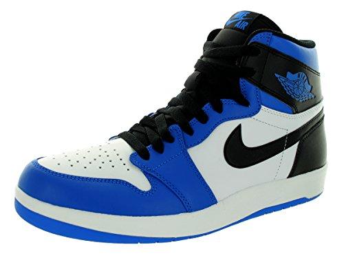Retorno De Alta preto Nike Preta Branco soar Ténis Uma Branco Ar Masculina O Azul Jordan xqTwII870