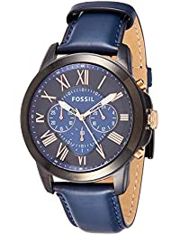Fossil Grant Analog Blue Dial Men's Watch - FS5061
