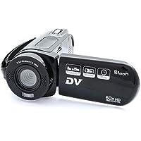 Bison HD Handycam Camcorder DV60 (12 Megapixel, Black)