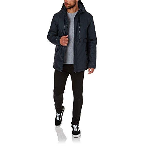 Element Herren Jacke Freeman, hochwertige gewachste Winterjacke, Funktionsjacke für Herbst und Winter, wasserabweisend und atmungsaktiv Multicolour