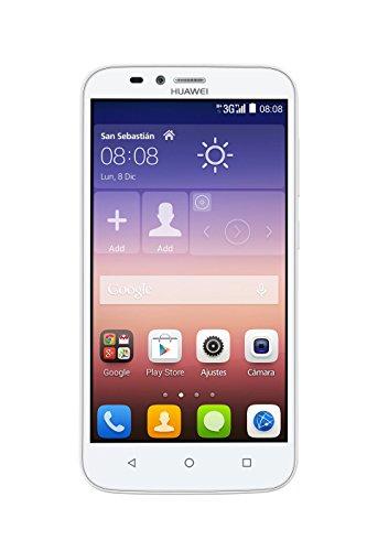 HUAWEI Y625 Jade Smartphone Unlocked (5 Zoll), 4 GB, Weiß (Import aus Spanien)