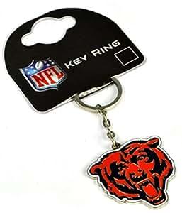 Chicago Bears NFL portachiavi in metallo (bb)