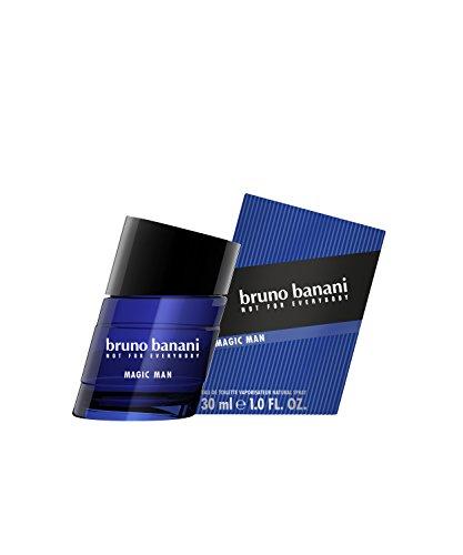 bruno banani Magic Man - Eau de Toilette Natural Spray - Charismatisch-warmes Herren Parfüm - 1er Pack (1 x 30ml) - Coty Parfüm-flasche