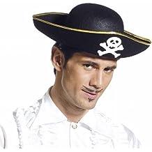 Amazon.it  cappello da pirata dei caraibi 5b98913603bd