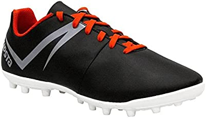 KIPSTA FIRST ADULT FOOTBALL BOOTS - BLACK WHITE