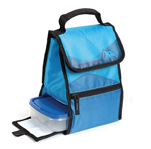 Arctic Zone Insulated Lunch Box With BPA Free Food Container (Blue-Black  Trim) by Arctic Zone