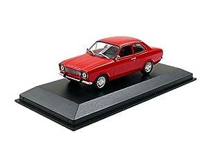 """Minichamps 940081001""""1968Ford Escort I LHD Modelo de Juguete, Rojo, 1: 43Escala"""