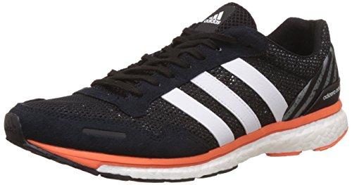 Adidas Adizero Adios M, Chaussures de course pour homme, Noir (Cblack / Ftwwht / Eneora), 46 2 / 3 EU
