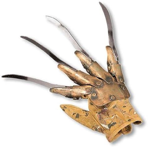 Freddy Krueger gant métallique Deluxe - Freddy Krueger Metallo Guanto