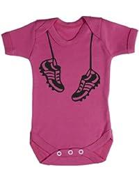 Baby Buddha - Hanging Football Boots Baby Bodys / Strampler 100% Baumwolle