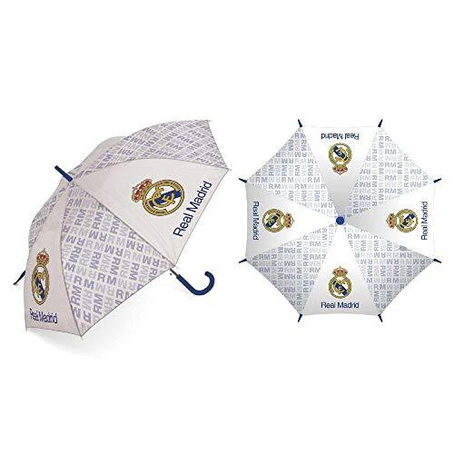 ARDITEX RM12971 Paraguas poliéster Real Madrid CF