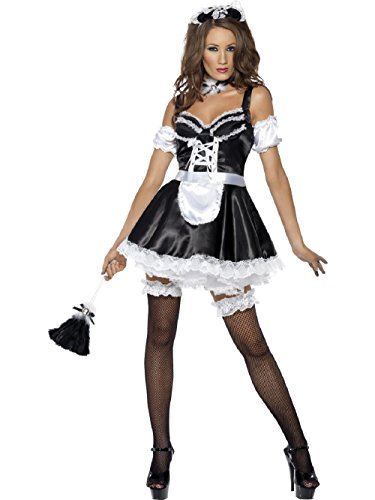 Maid Costume Woman Sexy Fancy Dress (Erwachsenen French Maid Kostüme)
