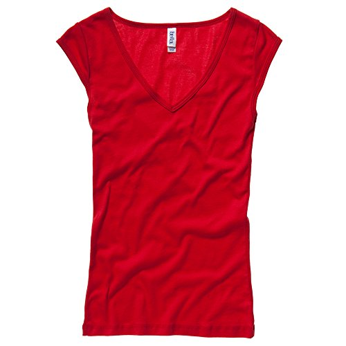 Bella Canvas - T-shirt - Femme L Rouge - Rouge