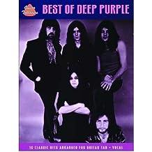 [(Deep Purple: The Best of (Guitar Tab))] [ By (composer) Deep Purple ] [December, 2006]