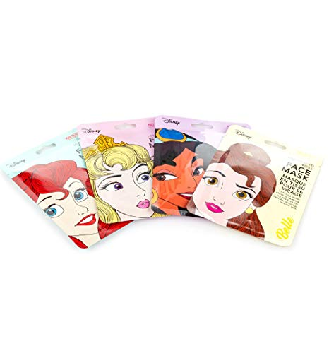 t Of 4 Princess Sheet Face Mask Collection from ()